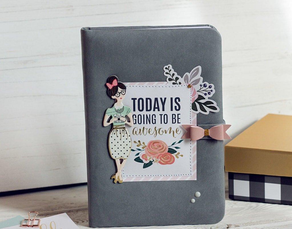 Блокнот для записей или ежедневник