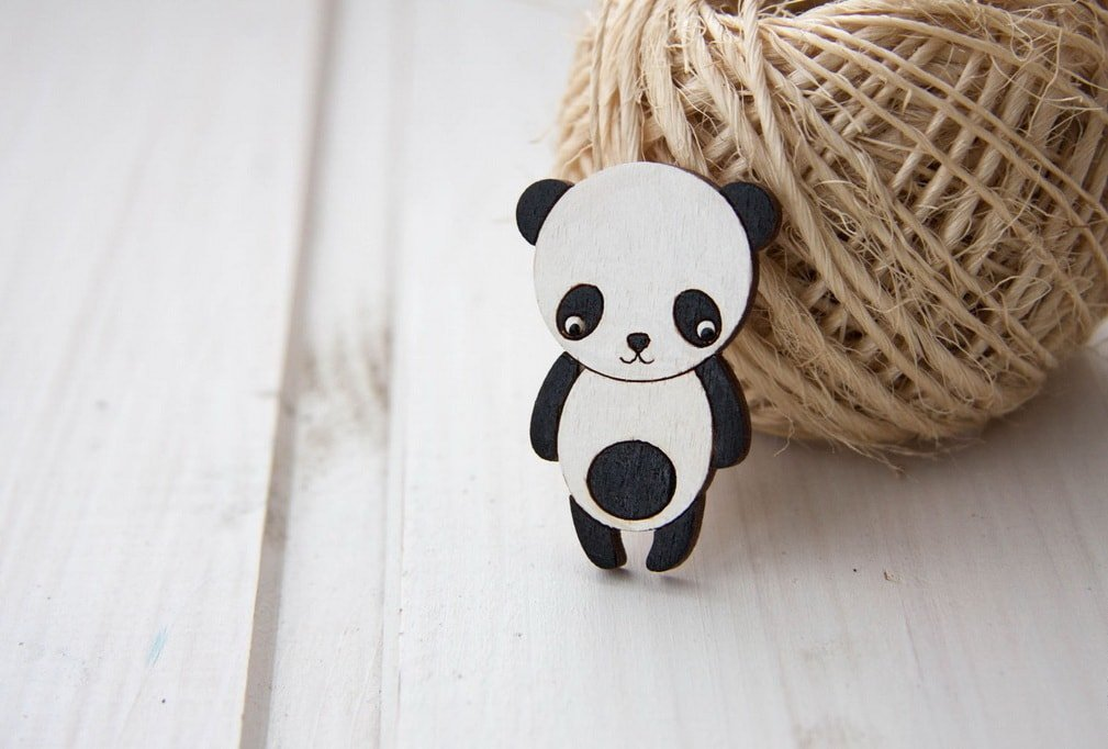 Брошь «Панда Виталик»