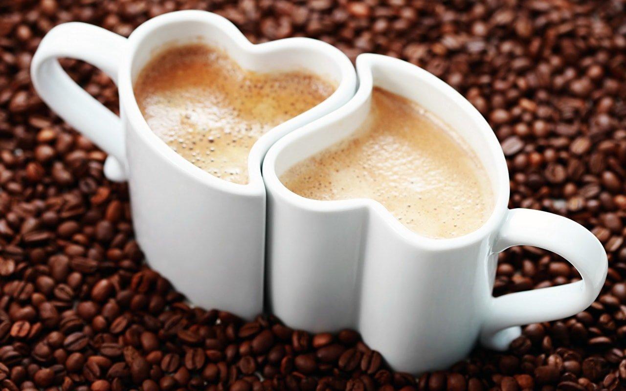 Чашки «Влюбленные сердца»