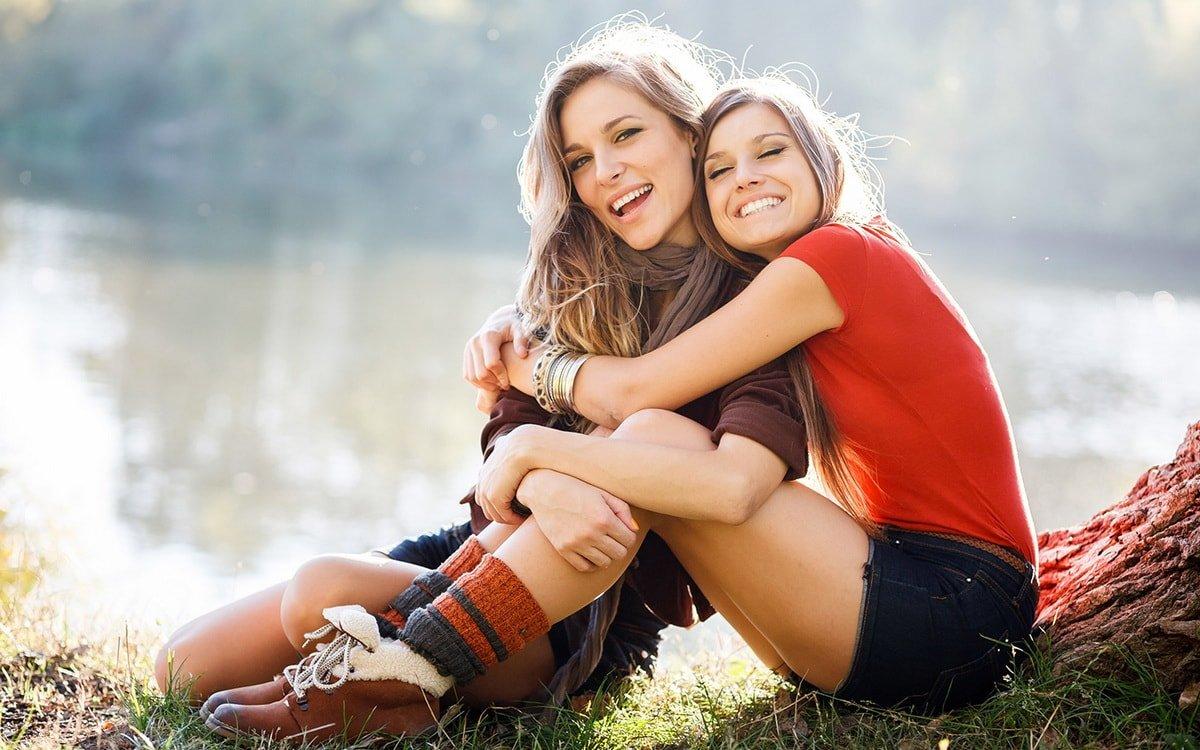 Картинки про сестер красивые