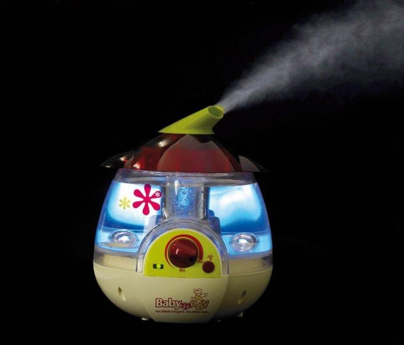 Детский увлажнитель воздуха с подсветкой