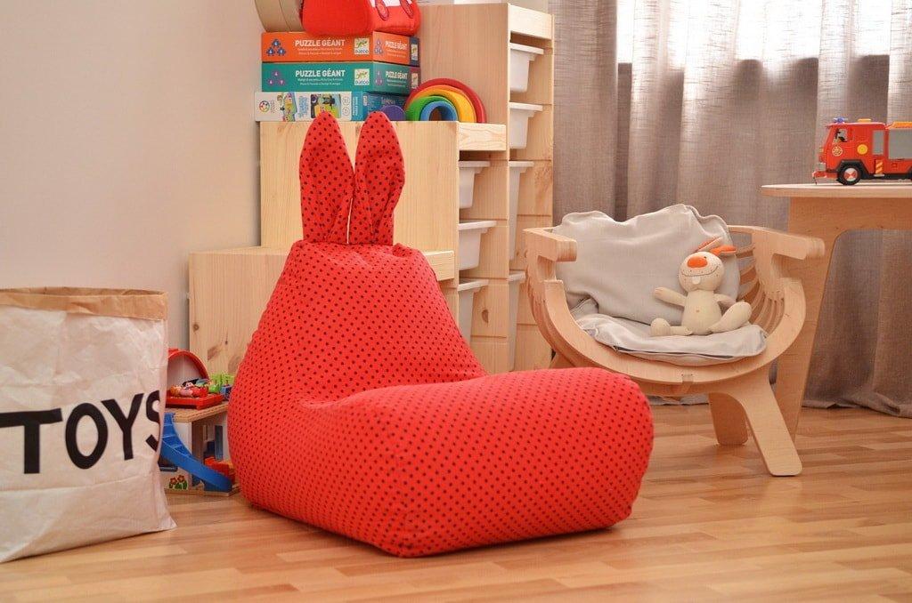Детское кресло-пуфик