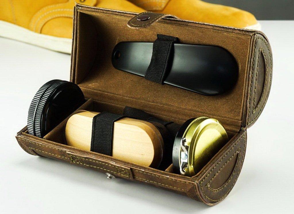 Дорожный набор для ухода за обувью