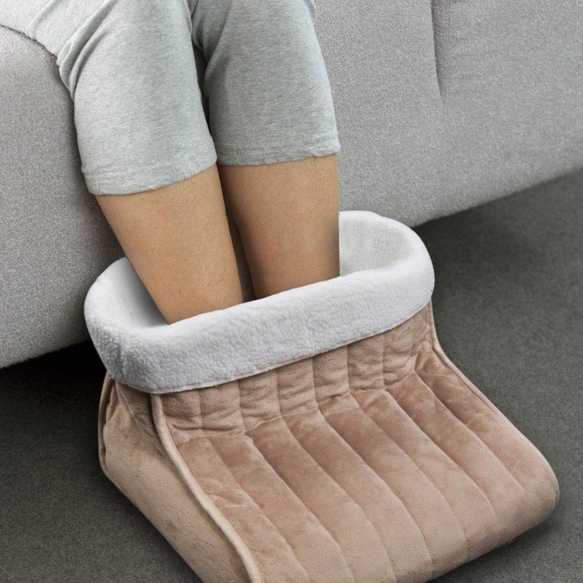 Электрическая грелка для ног