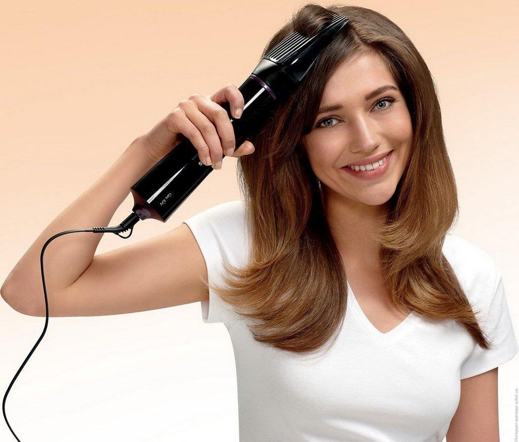 Фен-щетка для укладки волос
