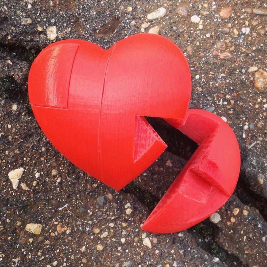 Головоломка «Сердечко»