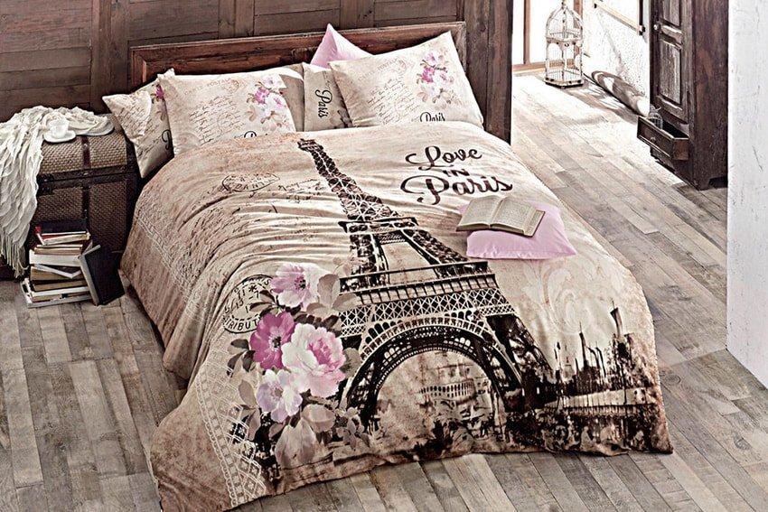 Комплект постельного белья в романтическом стиле