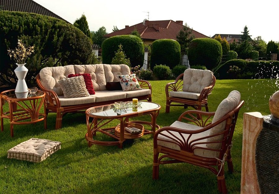 Комплект садовой мебели на дачу