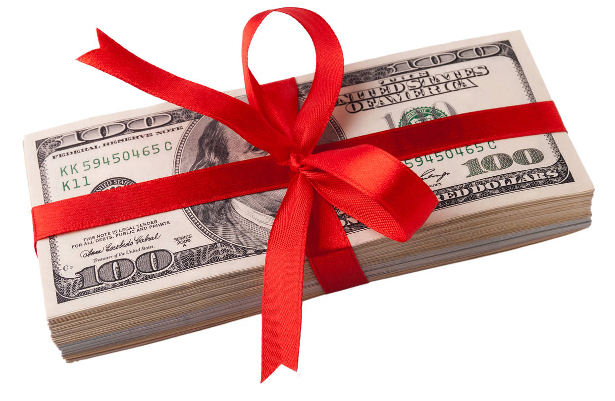 Конверт с деньгами