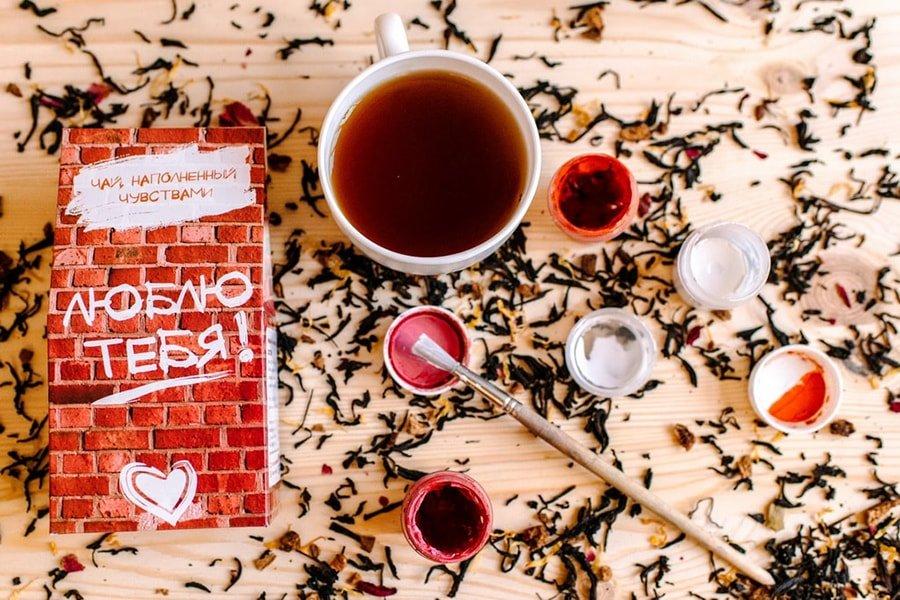 Набор чая в креативной упаковке