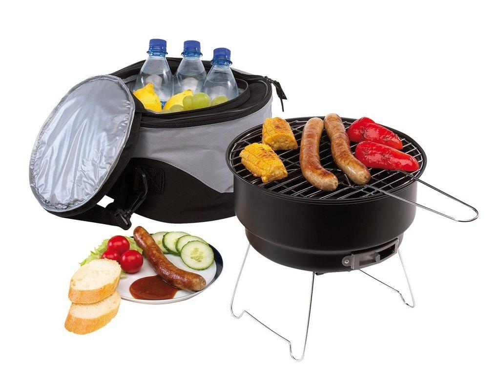 Набор для барбекю и гриля в сумке-холодильнике