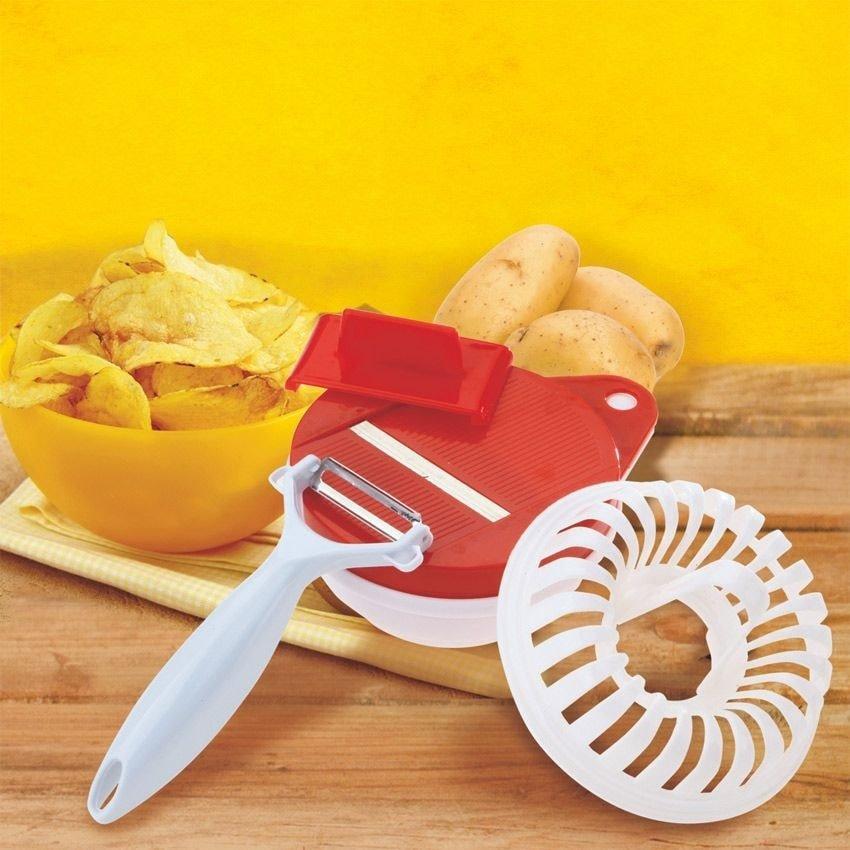 Набор для приготовления чипсов в СВЧ-печи «Хрустики»