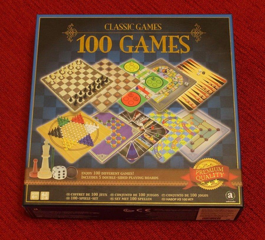 Набор настольных игр «Craftsman Deluxe 10 в 1»