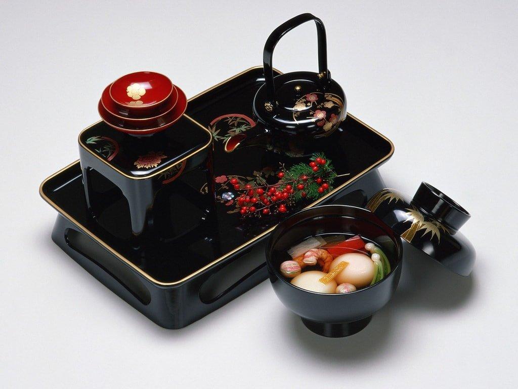 Набор сервировки для подачи японской еды
