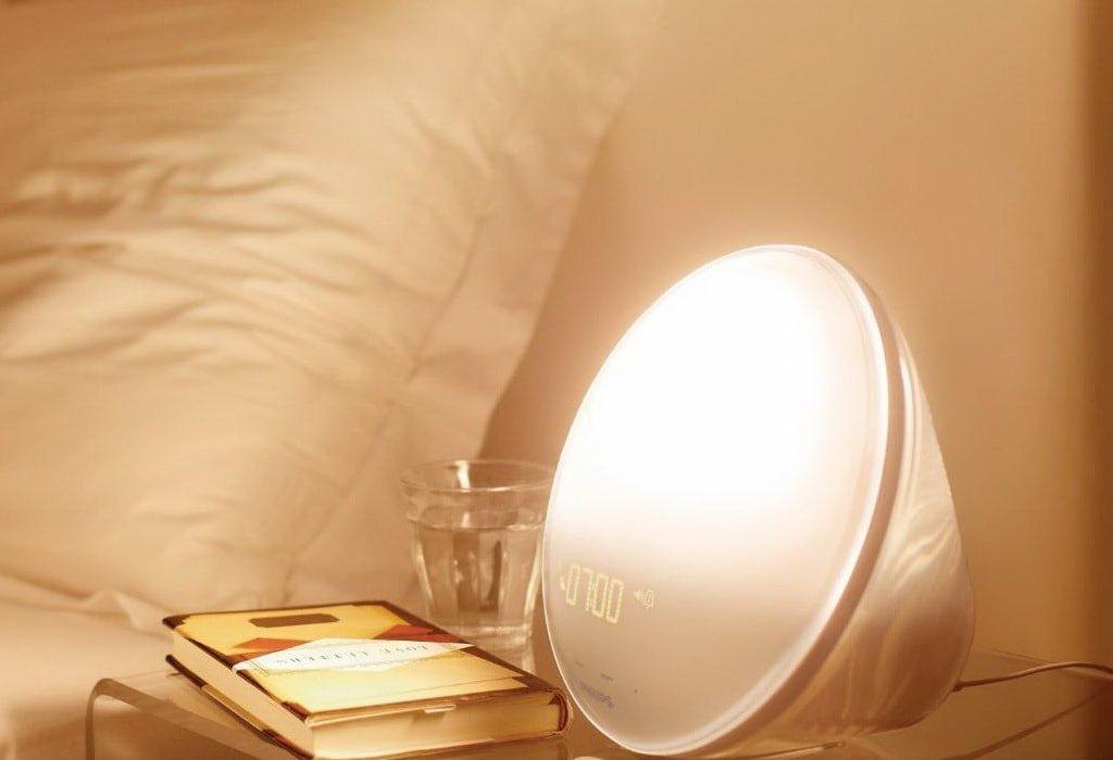 Настольный световой будильник