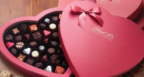 Как удивить девушку при помощи коробки конфет