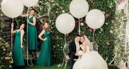 Украшаем свадебные торжества воздушными шарами